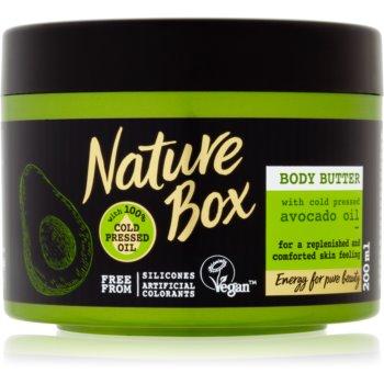 Nature Box Avocado unt pentru corp, hranitor imagine 2021 notino.ro