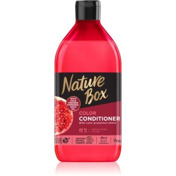 Nature Box Pomegranate balsam profund hrănitor pentru protecția culorii imagine 2021 notino.ro