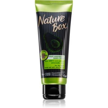 Nature Box Avocado crema de maini cu absorbtie rapida imagine 2021 notino.ro