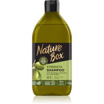 Nature Box Olive Oil sampon protector împotriva părului fragil notino.ro