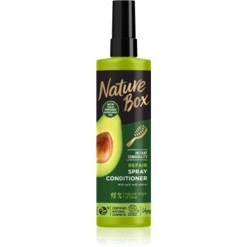 Nature Box Avocado Oil balsam regenerator pentru par deteriorat imagine 2021 notino.ro