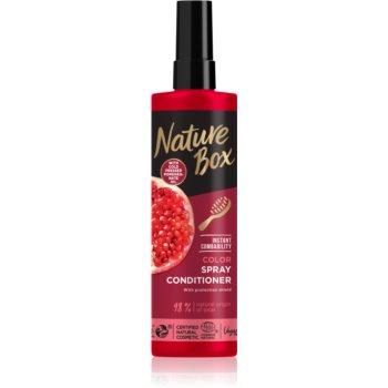 Nature Box Pomegranate Oil balsam pentru păr vopsit imagine 2021 notino.ro