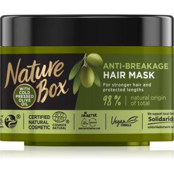 Nature Box Olive Oil masca împotriva părului fragil imagine 2021 notino.ro