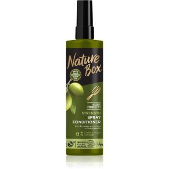 Nature Box Olive Oil balsam fortifiant pentru păr lung imagine 2021 notino.ro