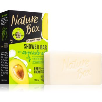 Nature Box Shower Bar Avocado Oil Sapun natural imagine 2021 notino.ro