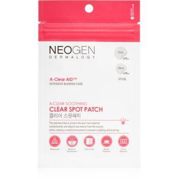Neogen Dermalogy A-Clear Soothing Spot Patch plasture de curatare pentru ten acneic image0