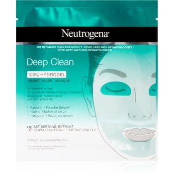 Neutrogena Deep Clean mască intensă cu hidrogel pentru curatare profunda imagine 2021 notino.ro