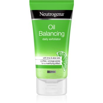 Neutrogena Oil Balancing peeling racoritor imagine 2021 notino.ro