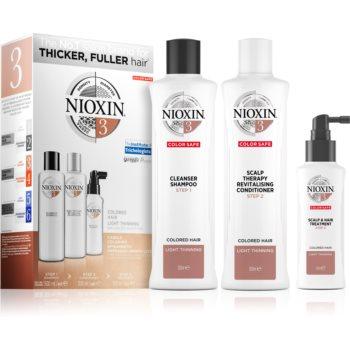 Nioxin System 3 Color Safe set cadou pentru păr vopsit imagine 2021 notino.ro