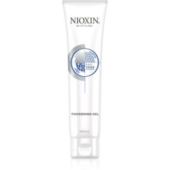 Nioxin 3D Styling Pro Thick gel de par pentru fixare și formă imagine 2021 notino.ro