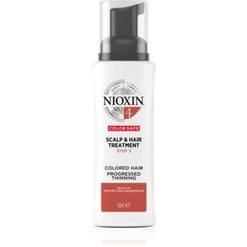 Nioxin System 4 Color Safe mască pentru părul foarte subțiat, fin și tratat chimic imagine 2021 notino.ro