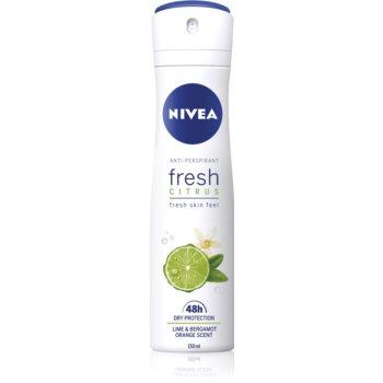 Nivea Fresh Citrus spray anti-perspirant 48 de ore imagine 2021 notino.ro