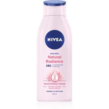 Nivea Natural Radiance lapte de corp cu efect delicat de bronz notino.ro