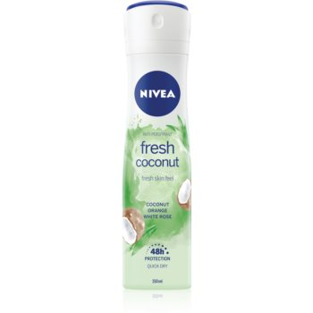 Nivea Fresh Blends Fresh Coconut spray anti-perspirant imagine 2021 notino.ro