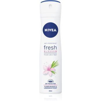 Nivea Fresh Blossom spray anti-perspirant 48 de ore imagine 2021 notino.ro