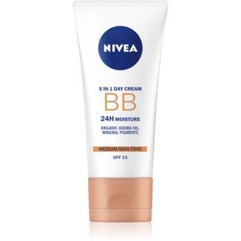 Nivea Skin Care cremă BB cu efect de hidratare imagine 2021 notino.ro