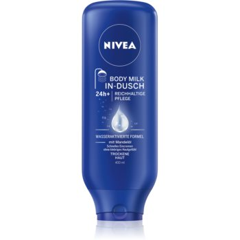 Nivea Body Shower Milk lotiune de corp hranitoare in dus imagine 2021 notino.ro