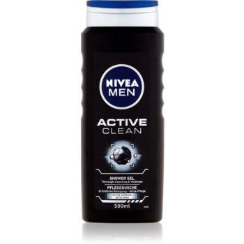 Nivea Men Active Clean gel de dus pentru față, corp și păr pentru barbati notino.ro