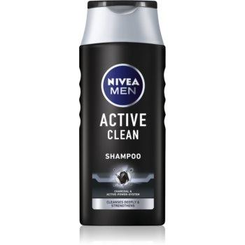 Nivea Men Active Clean șampon cu ingrediente active de cărbune imagine 2021 notino.ro