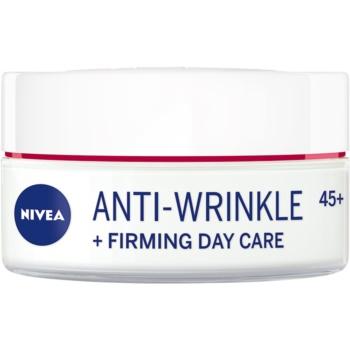 Nivea Anti-Wrinkle Firming Cremă de zi intensă pentru riduri 45+ imagine 2021 notino.ro