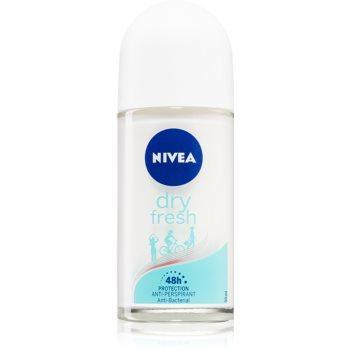 Nivea Dry Fresh antiperspirant roll-on 48 de ore imagine 2021 notino.ro