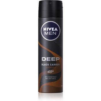 Nivea Men Deep spray anti-perspirant pentru barbati imagine 2021 notino.ro