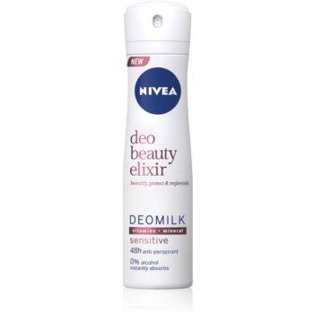 Nivea Deo Beauty Elixir Sensitive spray anti-perspirant imagine 2021 notino.ro