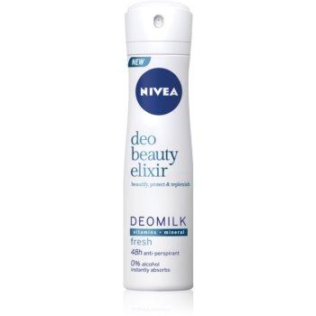 Nivea Deo Beauty Elixir Fresh spray anti-perspirant 48 de ore imagine 2021 notino.ro