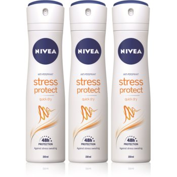 Nivea Stress Protect spray anti-perspirant cu o eficienta de 48 h imagine 2021 notino.ro