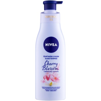 Nivea Cherry Blossom & Jojoba Oil lapte de corp cu ulei imagine 2021 notino.ro