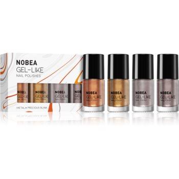 NOBEA Metal set de lacuri de unghii notino.ro