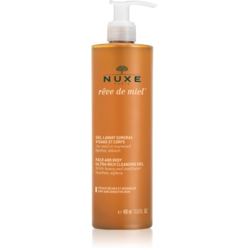 Nuxe Rêve de Miel gel de curățare pentru piele uscata notino.ro