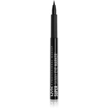 NYX Professional Makeup Super Skinny Eye Marker eyeliner în fix imagine 2021 notino.ro