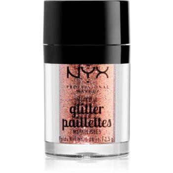 NYX Professional Makeup Glitter Goals sclipici metalic pentru față și corp imagine 2021 notino.ro