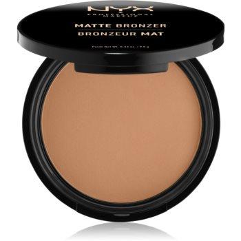 NYX Professional Makeup Matte Bronzer autobronzant imagine 2021 notino.ro