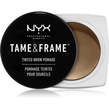 NYX Professional Makeup Tame & Frame Brow Spancene Pomada imagine 2021 notino.ro