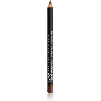 NYX Professional Makeup Suede Matte Lip Liner dermatograf mat de buze imagine 2021 notino.ro
