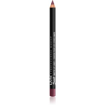 NYX Professional Makeup Suede Matte Lip Liner dermatograf mat de buze notino.ro