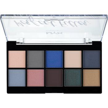 NYX Professional Makeup Perfect Filter Shadow Palette paleta farduri de ochi notino.ro