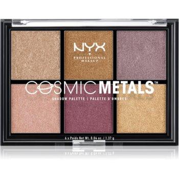 NYX Professional Makeup Cosmic Metals™ paletă cu farduri de ochi imagine 2021 notino.ro