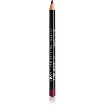 NYX Professional Makeup Slim Lip Pencil creion de buze cu trasare precisă imagine 2021 notino.ro