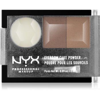 NYX Professional Makeup Eyebrow Cake Powder set pentru aranjarea sprâncenelor imagine 2021 notino.ro
