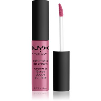 NYX Professional Makeup Soft Matte Lip Cream ruj lichid mat, cu textură lejeră notino.ro