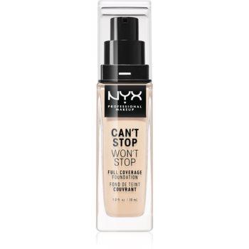NYX Professional Makeup Can't Stop Won't Stop fond de ten cu acoperire ridicată notino.ro