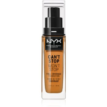 NYX Professional Makeup Can't Stop Won't Stop fond de ten cu acoperire ridicată imagine 2021 notino.ro