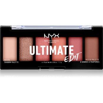 NYX Professional Makeup Ultimate Edit Petite Shadow paletă cu farduri de ochi imagine 2021 notino.ro