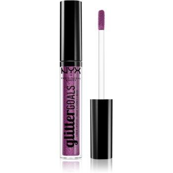 NYX Professional Makeup Glitter Goals ruj de buze lichid notino.ro