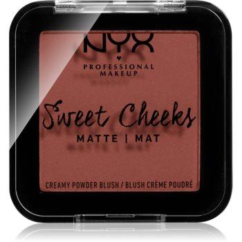 NYX Professional Makeup Sweet Cheeks Blush Matte tvářenka odstín TOTALLY CHILL 5 g