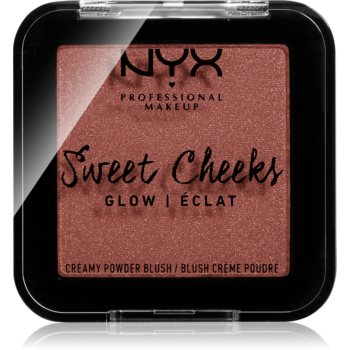NYX Professional Makeup Sweet Cheeks Blush Glowy tvářenka odstín TOTALLY CHILL 5 g