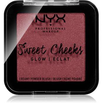 NYX Professional Makeup Sweet Cheeks Blush Glowy tvářenka odstín BANG BANG 5 g